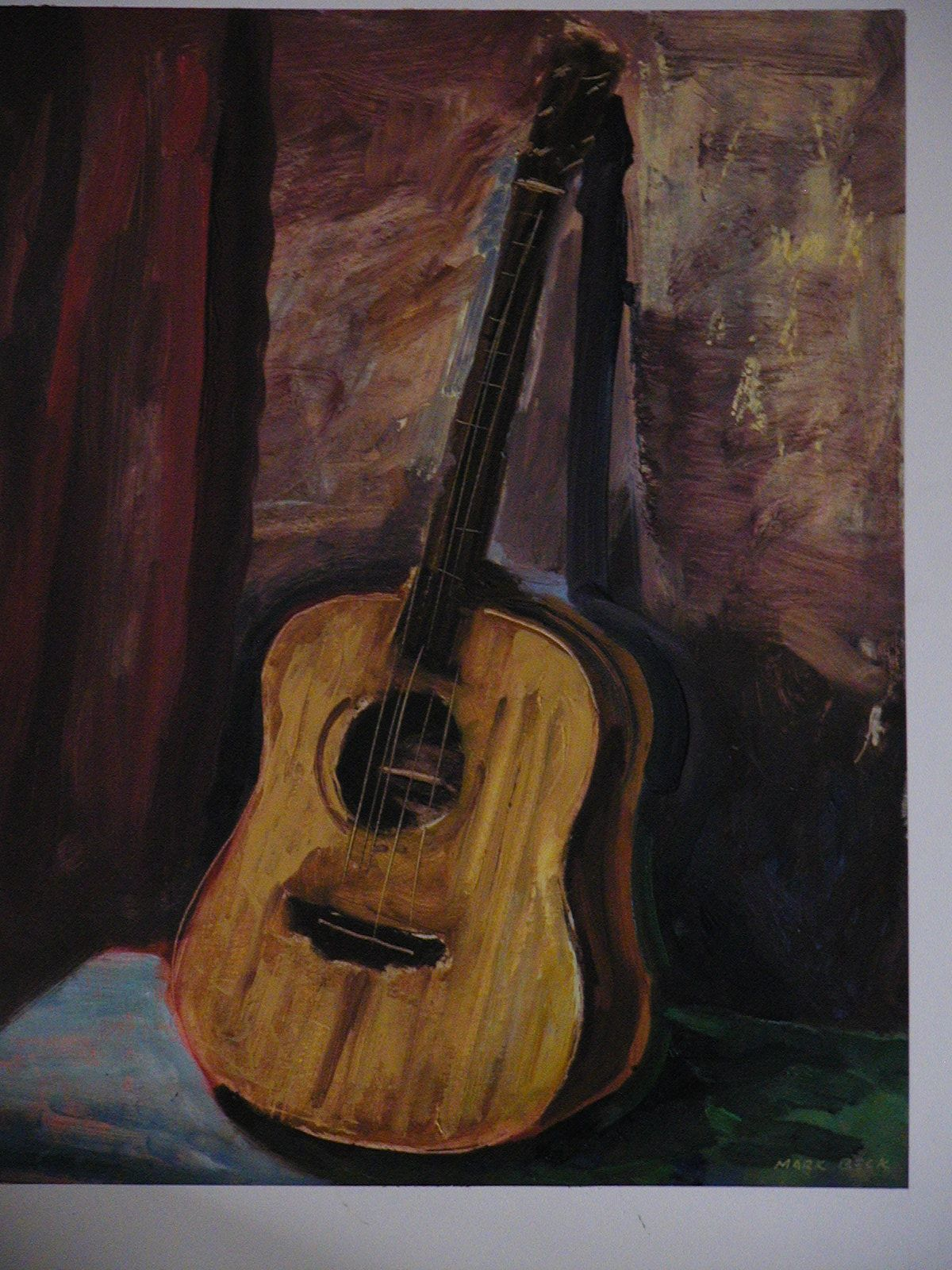 Source For Image Herronguitars Images Marks20guitar20painting